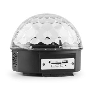 Magic Jelly Dj-Ball mit MP3 Player LED-Lichteffekt RGB Musiksteuerung USB SD