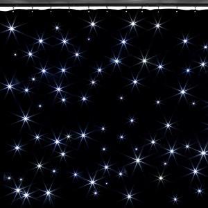 SparkleWall LED-Vorhang LED 96 RGBW - cold white 3x2 m inkl. Fernbedienung