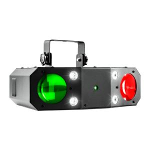 Terminator III 3-in-1-LED-Lichteffekt Moonflower Laser Stroboskop