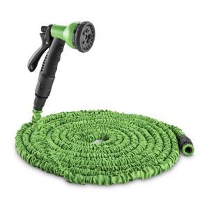 Water Wizard 22 Flexibler Gartenschlauch 8 Funktionen 22,5m grün