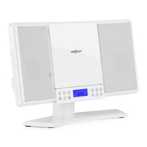 V14 Stereoanlage CD MP3 UKW AUX Fernbedienung weiß Weiß
