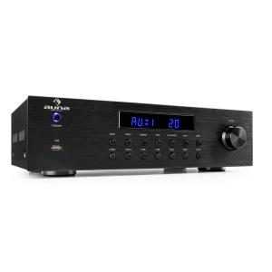 AV2-CD850BT 4-Zonen Stereo-Verstärker 5x80W RMS Bluetooth USB CD FM schwarz