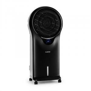 Whirlwind 3-in-1 Klimagerät Ventilator Luftkühler Luftbefeuchter 5,5L 110W schwarz Schwarz