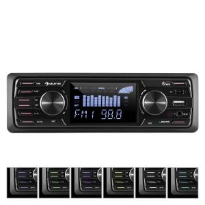 "MD-350BT Autoradio Deckless BT USB SD MP3 4x45Wmax. 3""LCD AUX Fernbedienung"
