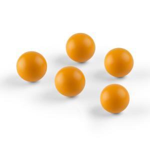 Ballyhoo Ersatzbälle Zusatzbälle 5 Softbälle Polyurethan orange