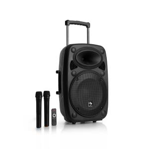 "Streetstar 12 Mobile PA-Anlage 12"" Subwoofer Trolley BT USB/SD/MP3 UKW AUX"