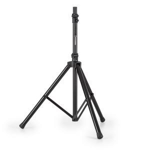Speaker Alu Boxenstativ Dreibein 130-200cm 35mm Flansch Aluminium schwarz