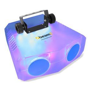 Nomia Clear Doppel-Moonflower Lichteffekt 114 RGBAW-LEDs IR-Fernbedienung