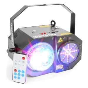 Sway 3-in1-LED Jellyball mit Laser und LED-Orgel RGBW-LEDs 150mW-RG-Laser