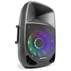 "FT1500A Aktiv-Lautsprecher 350W 15"" MP3 Bluethooth USB SD AUX LED LCD"
