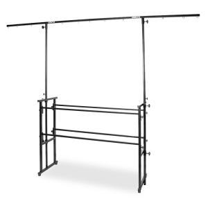 Pro Disco Ständer All-in One 11 Aufhängungen höhenverstellbar schwarz