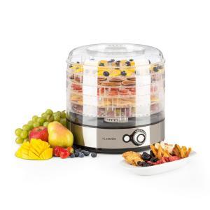 Fruitower M Dörrautomat 35-70°C 5 Ablagen 200-240W Edelstahl 5 Etagen
