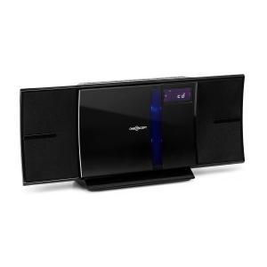 V-16-BT Stereoanlage Bluetooth CD USB MP3 UKW Wandmontage Schwarz
