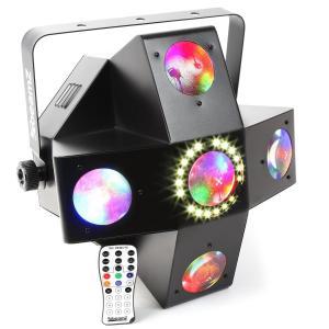 MultiTrix LED Strobe 25 x 1W RGBAW LEDs + 18x SMD Strobe DMX