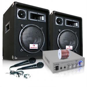 """PA Anlage """"READY 2 GO V2"""" Set Verstärker Boxen Mikrofone 800W"""
