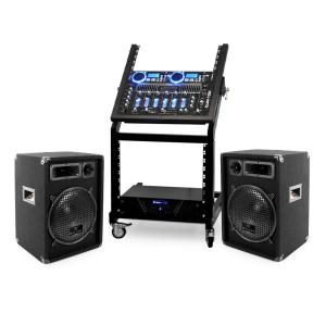 DJ PA Set Rack Star Neptun Palace 250 Personen