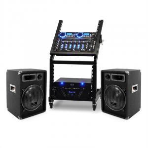 DJ PA Set Rack Star Uranus Blues 250 Personen
