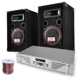 """DJ-PA-Set """"Funky Breakbeats"""" AMP Boxen 1000W"""