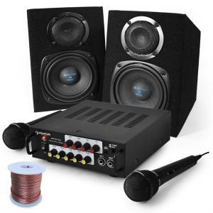 """Karaoke Set """"Pony`s Ranch"""" Boxen &Mikrofon"""