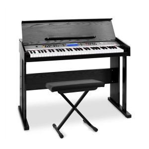 "Schubert ""Little Strauß"" Midi Keyboard-Komplett-Set mit Holzgehäuse & Hocker"