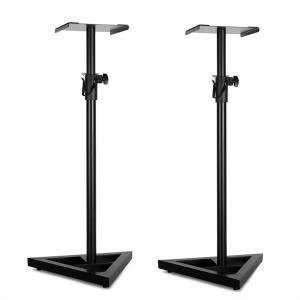Monitor-Stand-5 Paar Lautsprecher-Ständer schwarz