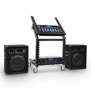 DJ PA Set Rack Star Series Mercury Beat 250 Personen