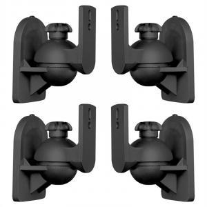 SB-28 Lautsprecherhalter 4er-Set schwarz <3,5kg Heimkino HiFi