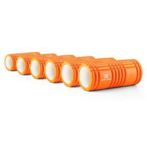 Caprole 1 Massageroller 6 Stück 33 x 14 cm orange