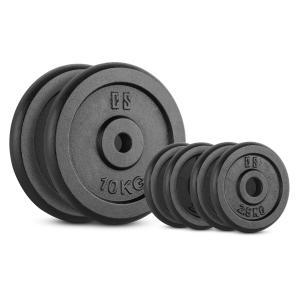 IPB 30 kg Set Gewichtsscheibenset 4 x 2,5 kg + 2 x 10 kg 30 mm