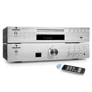 Elegance Tower BT 2.0 HiFi-Set MP3-CD-Player Verstärker 600W