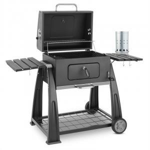 Bigfoot Set Holzkohlegrill BBQ Smoker + elektrischer Anzünder