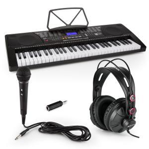 Etude 225 USB Lern-Keyboard mit Kopfhörer, Mikrofon und Klinke-Adapter