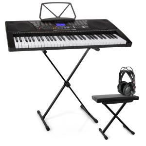 Etude 225 USB Lern-Keyboard Set Kopfhörer, Keyboard-Stand & Sitzbank