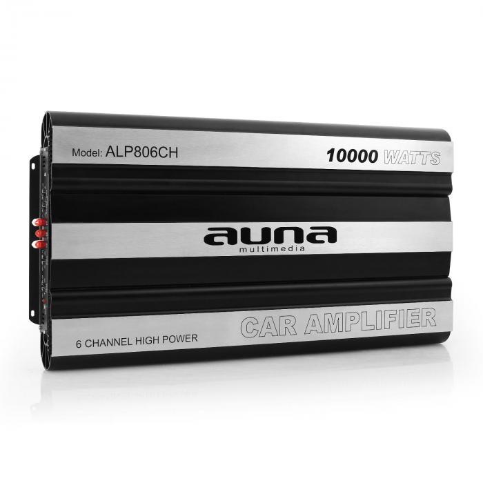 AMP806CH 6-Kanal Auto-Endstufe 6 x 320W RMS (2 Ohm) 6 x 160W (4 Ohm) MOSFET