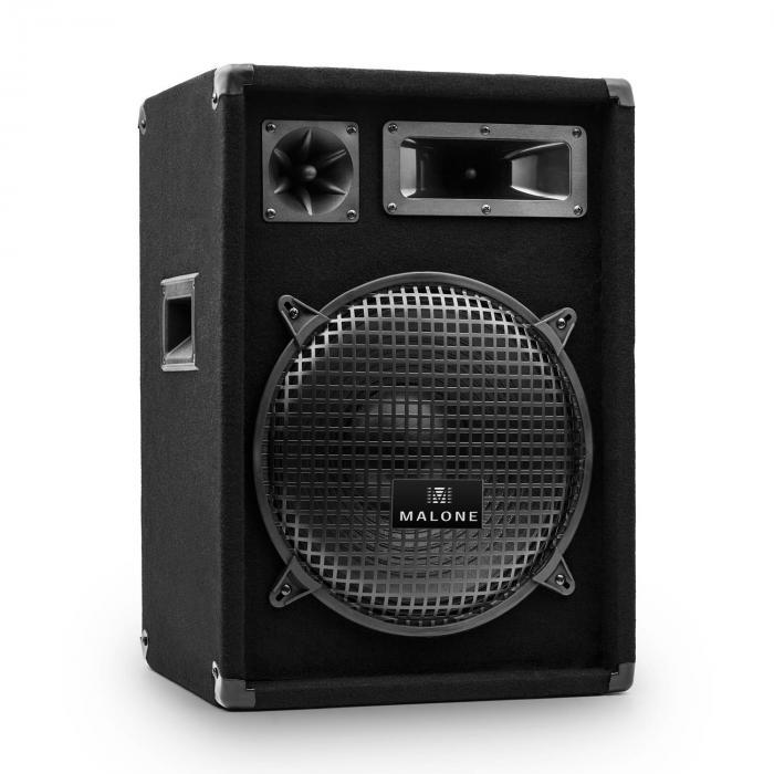 """PW-1222 3-Wege Box Lautsprecher 30cm (12"""") 600W"""