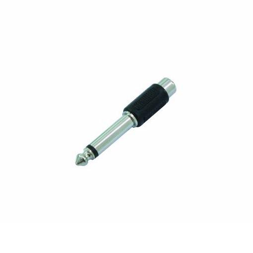 Cinch-Buchse-auf-6,3mm-Klinke-Adapter - mono