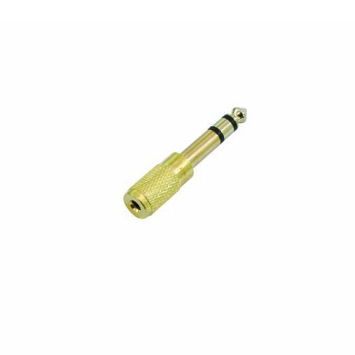 3,5mm-Klinke-Buchse-zu-6,3mm-Klinke-Adapter - stereo
