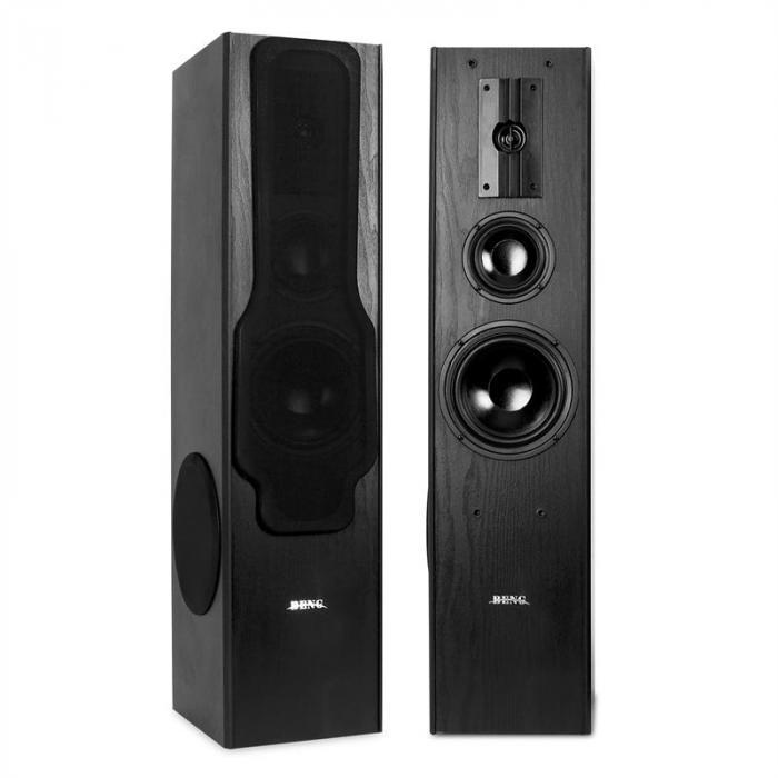 3-Wege HiFi Boxen-Paar Lautsprecher 880W