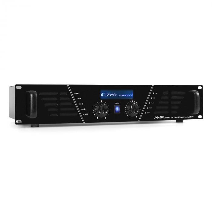 AMP-600 DJ PA Endstufe Verstärker 960W MOSFET Rack