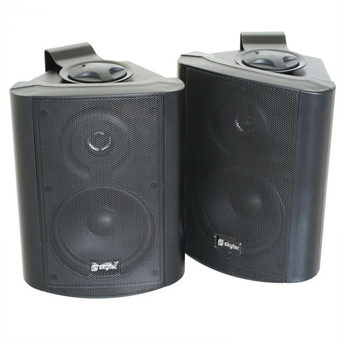 SKY-100 Wand-Lautsprecher Paar 2-Wege-Boxen für Wand- und Deckenmontage 200W