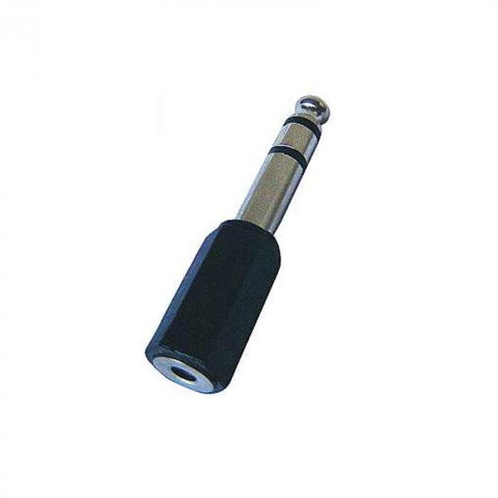 Klinke 6,3mm Stecker auf 3,5mm Kupplung