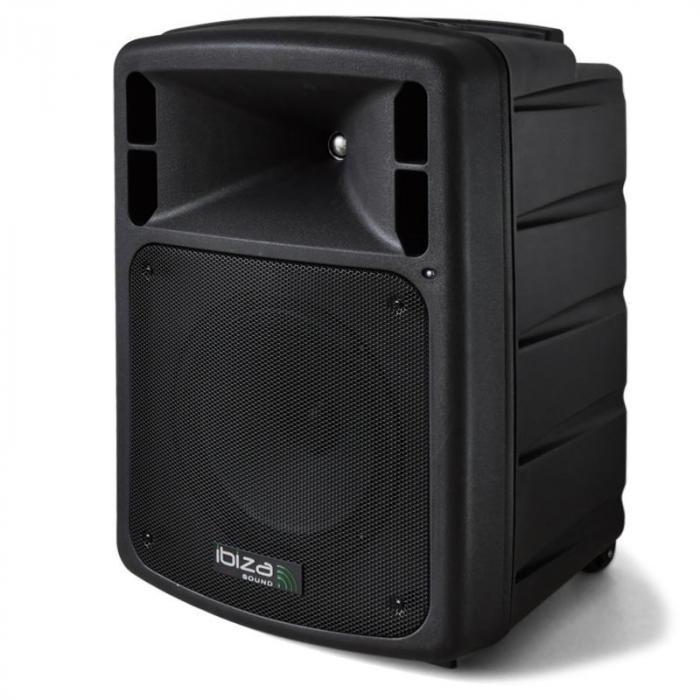 Port 10 Mobile PA-Anlage DVD-Player USB Akku Funk-Mikrofon