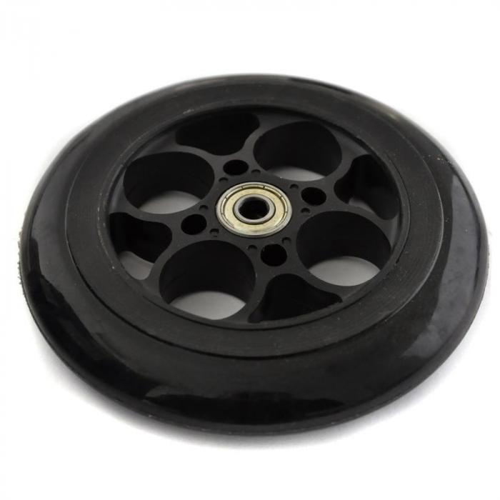 Ersatzteil Vorderrad schwarz für Elektroscooter