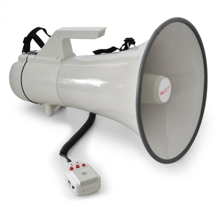 MEG1 Megafon 45Wmax. 1,5km Reichweite Aufnahme-Funktion