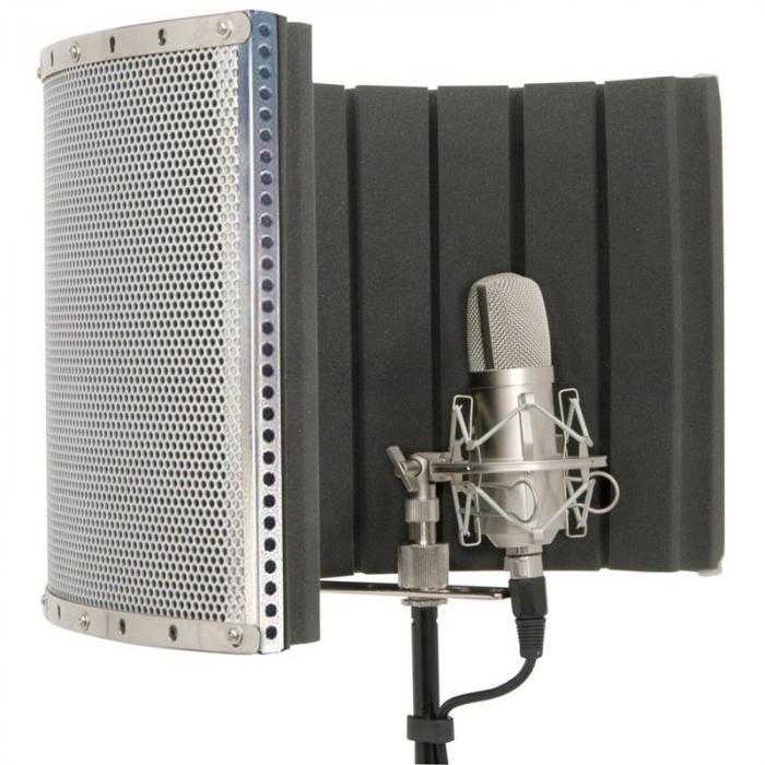188.205 mobiler Schalldämpfer Studio Mikrofon