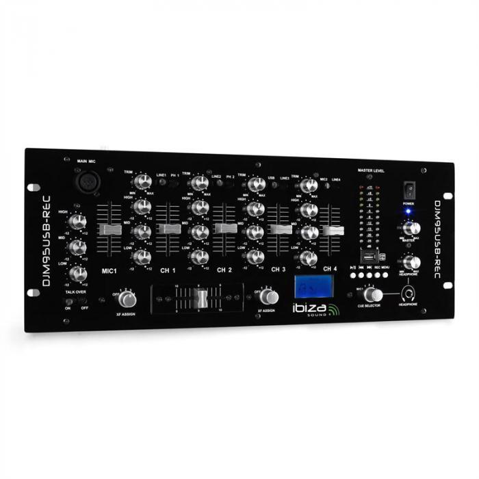 DJM950USB-REC 4-Kanal-DJ-Mischpult USB-Aufnahme