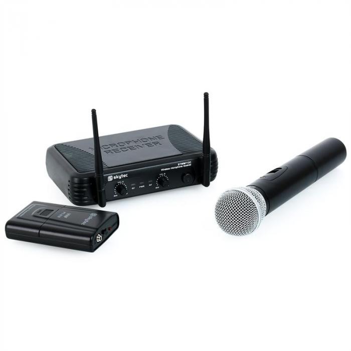 STWM712C VHF-Funkmikrofon-Set 2 Kanäle Headset