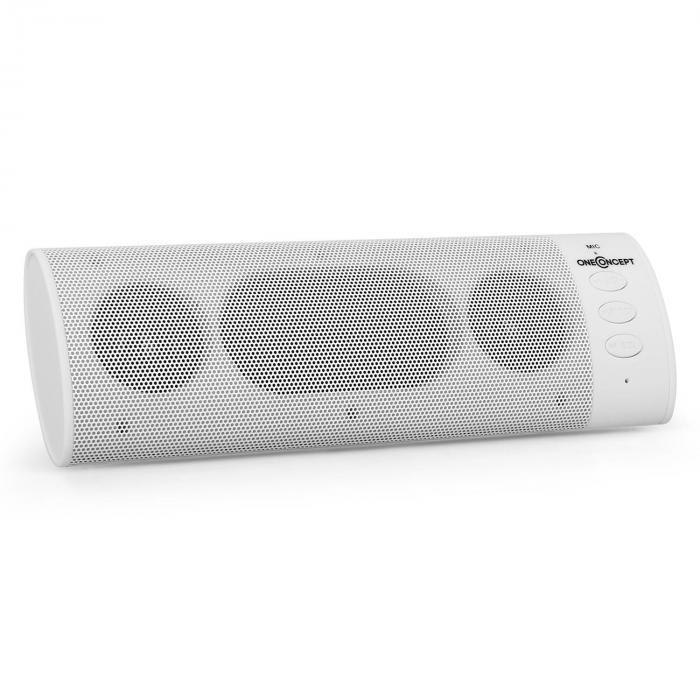 JamBar BT120 2.1 Bluetooth-Lautsprecher AUX Akku 15m weiß