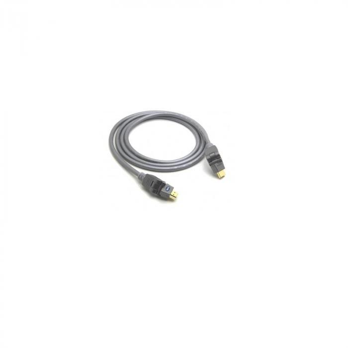 HD4511E18 HDMI High Speed Kabel mit Ethernet-Kanal HEC 1,8m 360 Grad Swivel