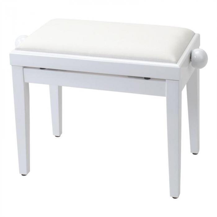 Pianobank Velour Sitzbezug höhenverstellbar